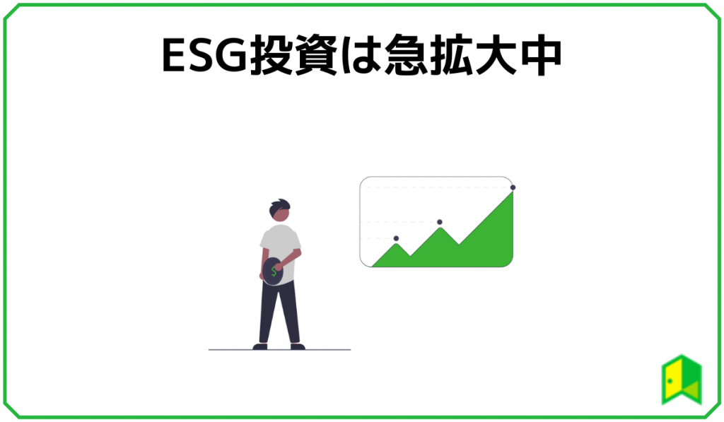 ESG投資の拡大