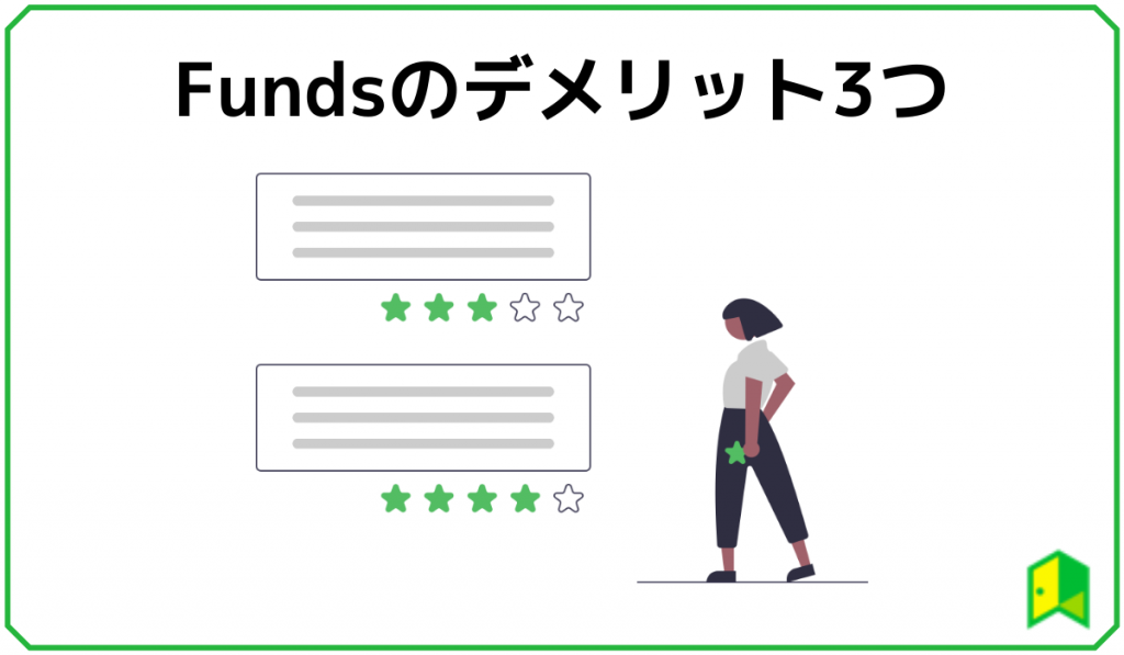 Fundsのデメリット